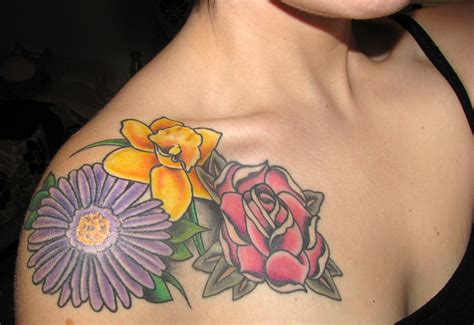 september flower tattoo september birth flower tattoomagz