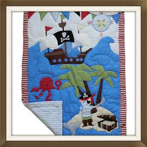 powell craft pirate cot quilt cot quilts loobylou s