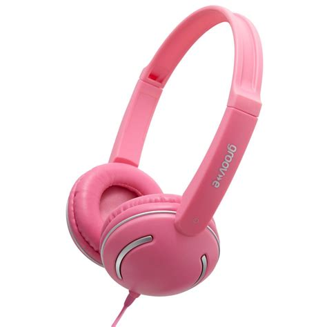 Headphone Pink Groov E Streetz Stereo Headphones Pink Gv 897 P