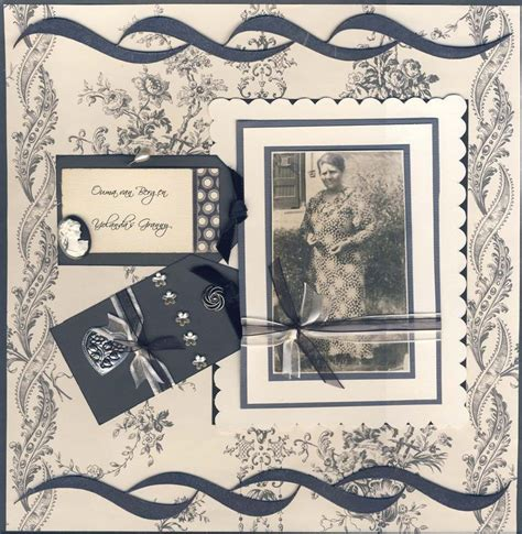 scrapbook layout vintage 17 best images about scrapbook ideas layouts on