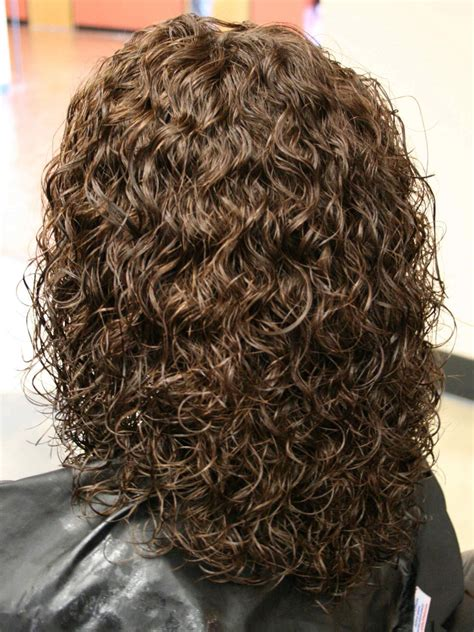 medium length hairstyles for permed hair perms for medium length hair spiral perm hairstyles on