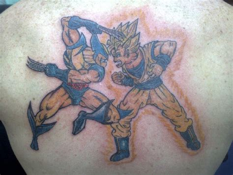 tattoo design gallery uk imagevue gallery wolverine goku 1 jpg