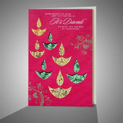 Handmade Diwali Cards - 10 beautiful handmade diwali cards