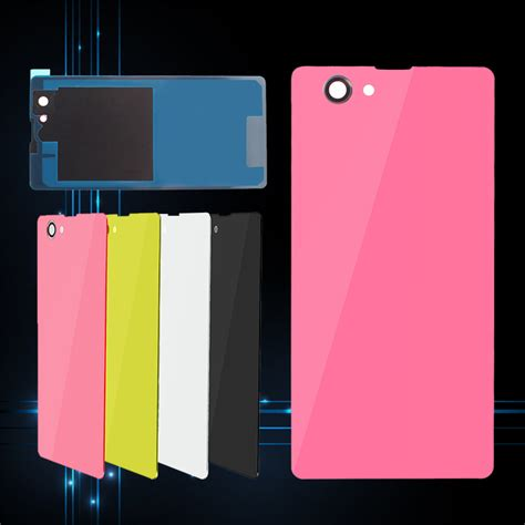 Back Casing Back Door Xperia Z1 back door battery rear glass cover for sony xperia z1