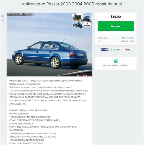 what is the best auto repair manual 2003 chrysler town country parking system volkswagen passat 2003 2004 2005 repair manual repair manual