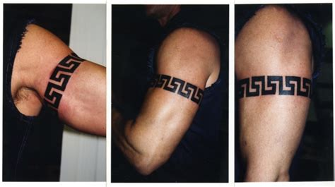 greek design tattoos me senescent