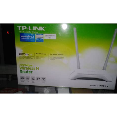 Wireless N Router Tp Link Tl Wr840n router tp link tl wr840n 300mbps wireless n router 2 antena elevenia