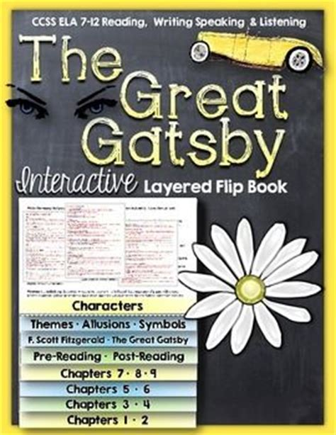 analysis of the great gatsby book 17 best images about reading ideas middle high school on