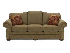 What Is At Cushion Loveseat Hickorycraft Living Room Three Cushion Sleeper Sofa