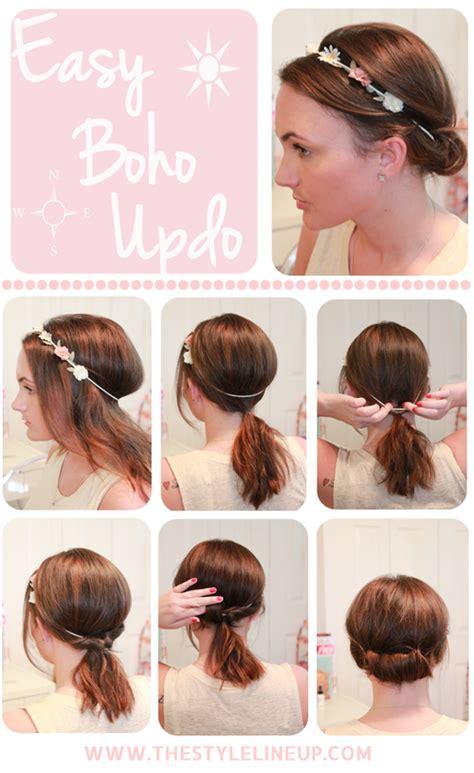 Easy Boho Hairstyles by Pretty Boho Style Braids Tutorials Pretty Designs