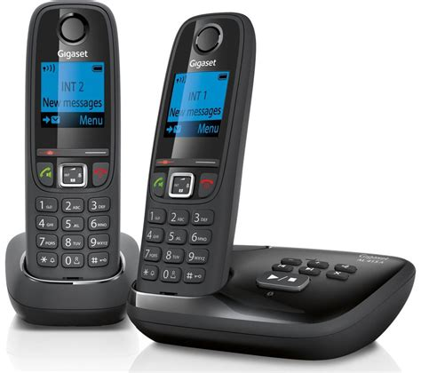mobile phone handsets buy gigaset duo al415a cordless phone with answering