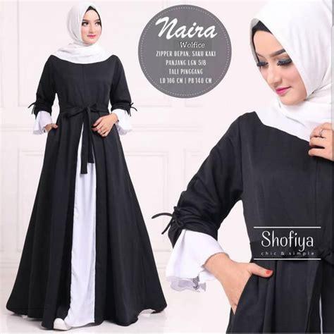 grosir busana muslim naira dress grosir baju muslim