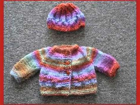 knitting patterns for sweater youtube baby sweater and hat knitting patterns youtube