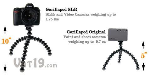 Gorilla Pod Size S gorillapod tripod bendable trip for your