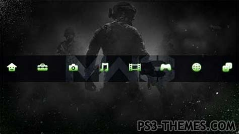 themes black ps3 ps3 themes 187 cod mw3 black dynamic theme