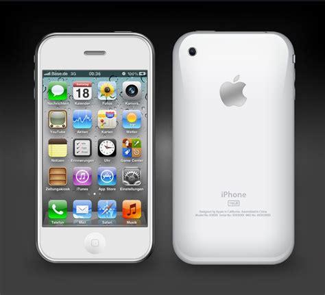 white iphone gs  glaskoenig  deviantart