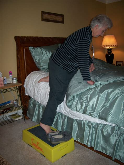 step stool to get into bed steps for active seniors shure step com