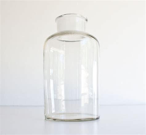 large glass jars vintage large glass apothecary jar by kibster traditional bathroom storage jars by etsy
