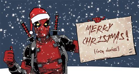 merry christmas christmas deadpool gif find  gifer