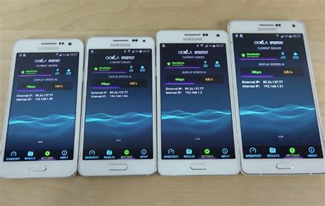 Samsung A7 Vs A5 samsung galaxy a7 vs a5 a3 and alpha and bootup tests phonesreviews uk mobiles