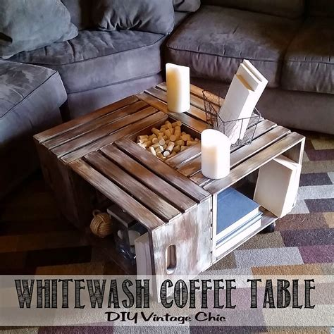 wine crate coffee table diy ideas 15 diy coffee tables from the rustic to the minimal