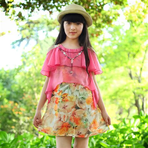 summer dresses for 29 yrs old kids 8 12 years old children s summer ladies dress girl