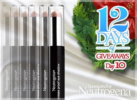 Beauty Blog Giveaways - 12 days of giveaways day 10 7 ways to win a prize package of all six neutrogena