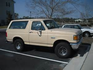 90 Ford Bronco 90 Fsb Nc S 1990 Ford Bronco In Wilmington Nc