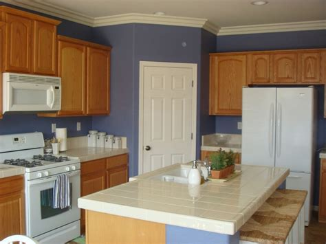 blue walls in kitchen blue kitchen walls with white cabinets 2016