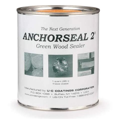 anchorseal 2 green wood sealer quart tiny reals home depot