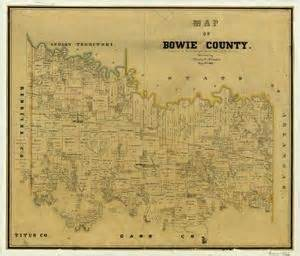 bowie county the portal to history