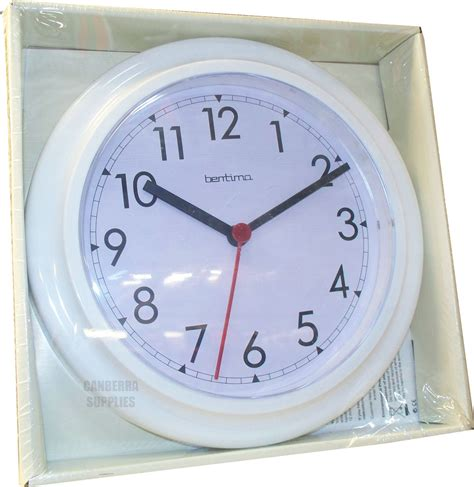 wall clock for bathroom wycombe wall clock kitchen bathroom bedroom office white