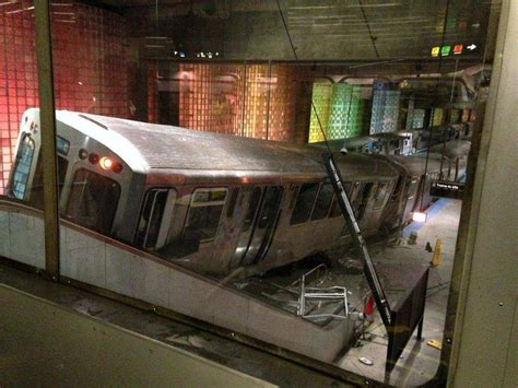 liveleakcom cta train derailment at chicago ohare chicago train driver fell asleep before derailment
