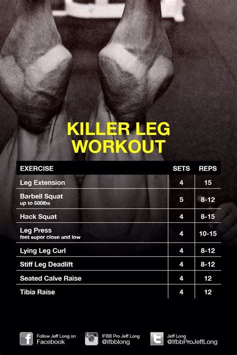 23 best images about leg workouts on leg