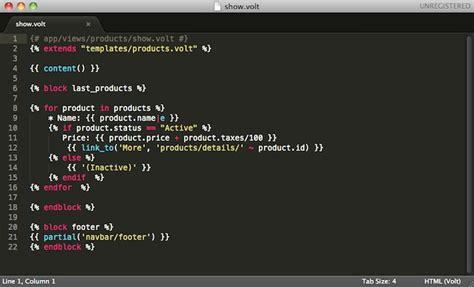 php tutorial template engine volt template engine phalcon 3 1 1 documentation english