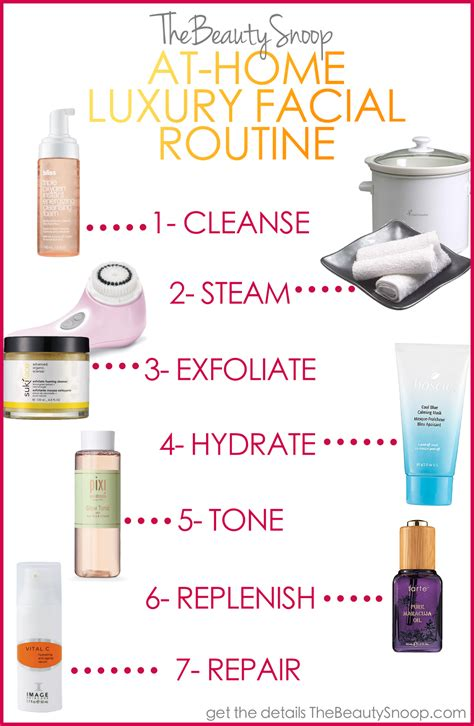 Best Home Products | the beauty snoop the best at home facial products routine