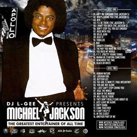 Dj L by Dj L Gee Presents Michael Jackson The Greatest Entertainer Of All Time 2cd Mixtapetorrent