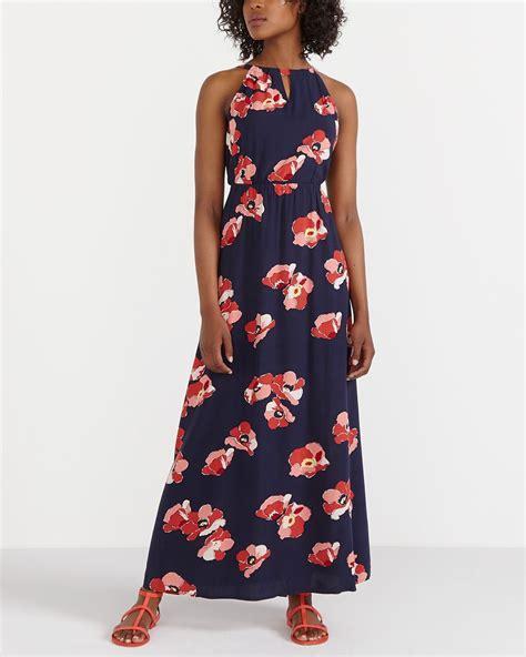 Halter Printed Maxi Dress printed halter maxi dress reitmans