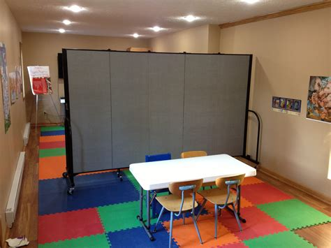 portable room ideas for using portable church room dividers screenflex
