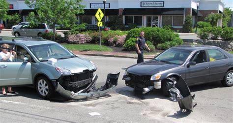 two car crash two car crash in hyannis