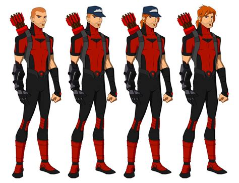 arsenal young justice commission arsenal p bourassa style by majinlordx on