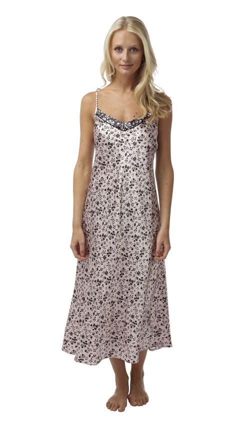 Original Hm Soft Lace Sleepwear womens satin nightie nightdress nightgown