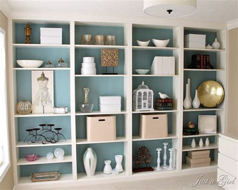 wow gorgeous ikea billy bookcases made to look