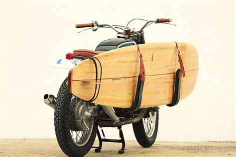 Surfboard Rack Motorcycle by Sprhuman Crafted By Humanity Absorbed By Sprhumans