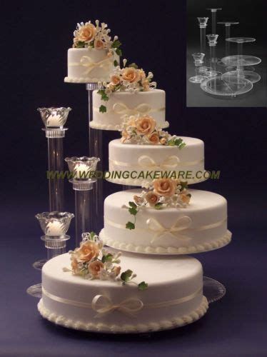 3 Tier Candle Stand by 5 Tier Cascading Wedding Cake Stand Stands 3 Tier Candle