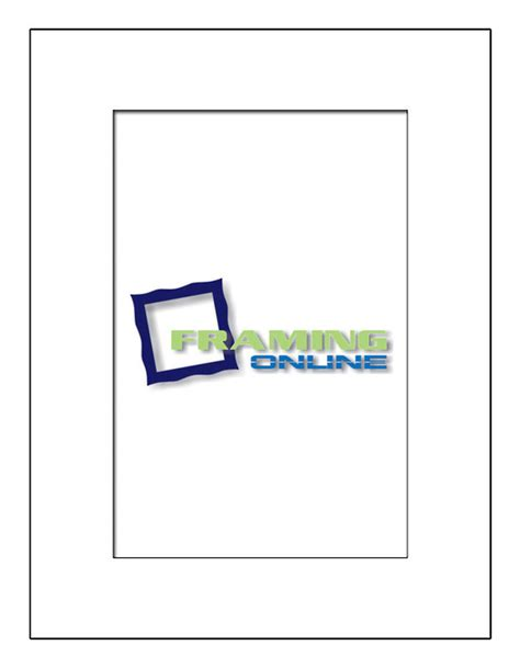 24 X 18 Frame With Mat by 12x18 In 18x24 White Mat 12x18 Quot Window To Fit 18x24