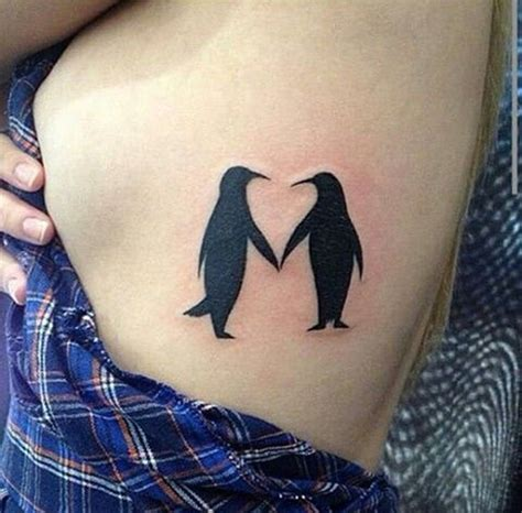 penguin tattoo design 90 penguin tattoos for the animal lover