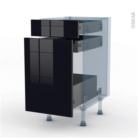 keria noir kit r 233 novation 18 meuble range 233 pice 3 tiroirs