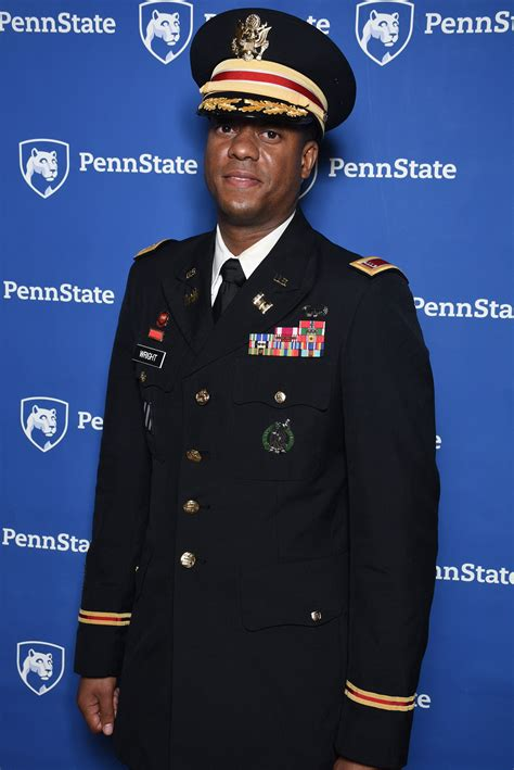 Chief Warrant Officer 3 by Student Focus Augustus Wright Penn State World Cus