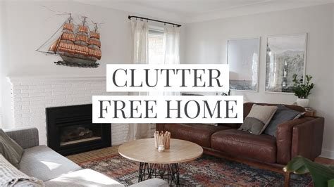 clutter free ideas on pinterest clutter free home 14 clutter free home tips habits youtube
